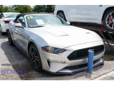 2019 Ford Mustang EcoBoost Premium 2D Convertible - 22166 - Image 1